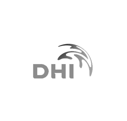 DHI-black and white